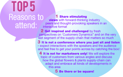 Floriforum 2019: Top 5 reasons to attend!